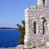 Das Städtchen Primosten in Kroatien