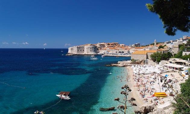 Tipps wo man schöne Sandstrände für Urlaub in Kroatien findet