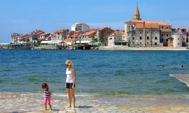 Umag ist ein beliebter Urlaubsort für Personen die in Kroatien Urlaub machen