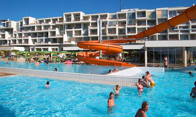 Ein beliebter Ferienpark in Kroatien ist der Club Funimation Borik wo viele Familien Urlaub machen