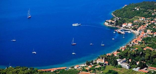 Die Insel Lopud in Dalmatien gilt als wahrer Geheim-Tipp für Urlaub in Kroatien