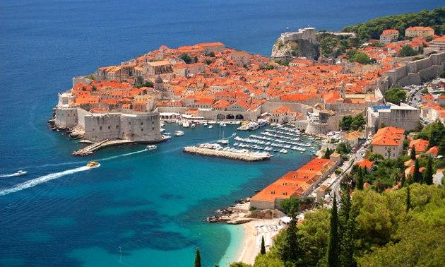 Der Hafen von Dubrovnik
