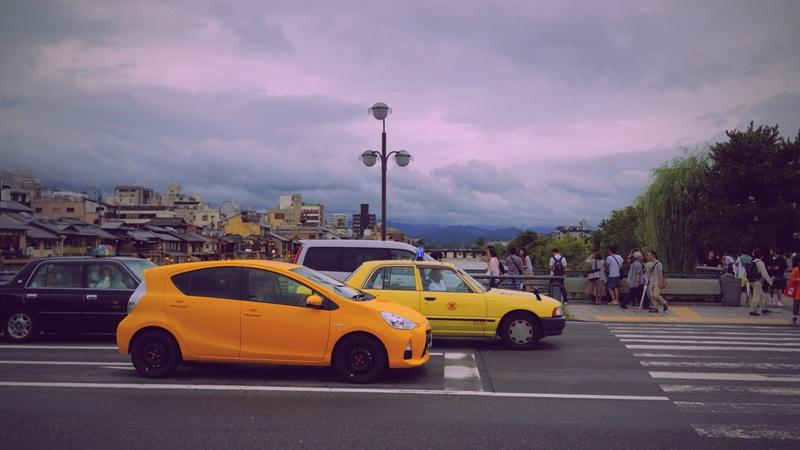 Urlaub - viele Autos